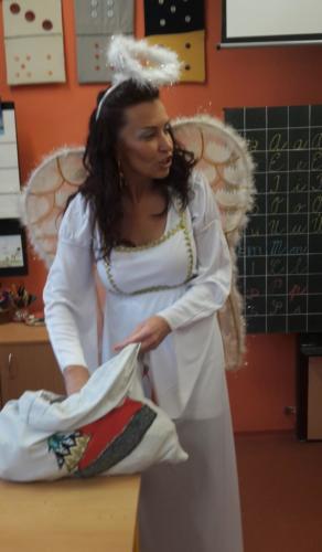 Nadělování s andělem