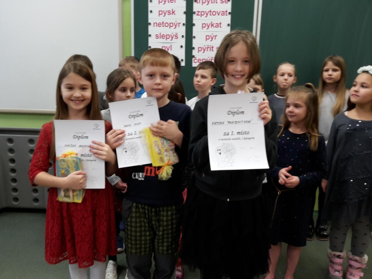 Vítězové mladší kategorie