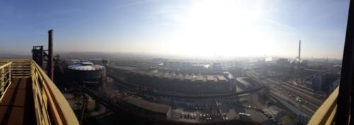 Výhled z Bolt toweru